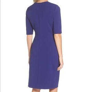 a552acaf Tahari Dresses   Scuba Crepe Sheath Dress   Poshmark